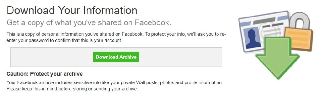 how to download all Facebook photos (3/3)
