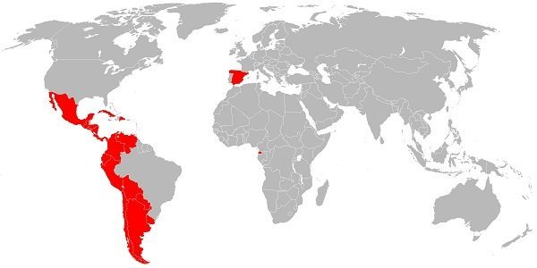 Countries that speak spanish