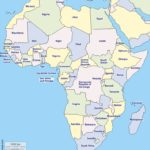 Countries of Africa (list and map)