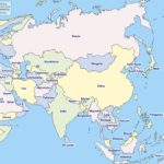 Countries of Asia (list and map)