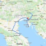 Italy, San Marino, Croatia and Slovenia road trip (9 days)