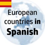 Countries of Europe in Spanish