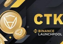 CTK Binance yield