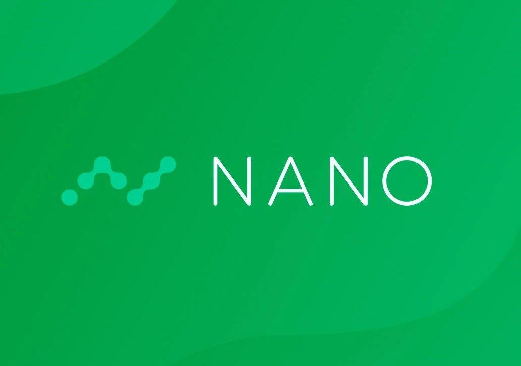 Nano cryptocurrency (green logo)